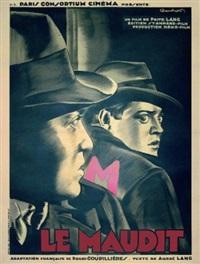 m le maudit/m ein stadt sucht ein morder (poster) by cecchetto