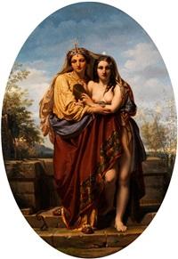 allegorie von wahrheit und schönheit by felix fossey