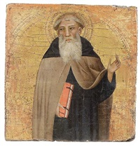 santo domenicano by giovanni del biondo