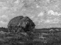 haystacks by oscar miller