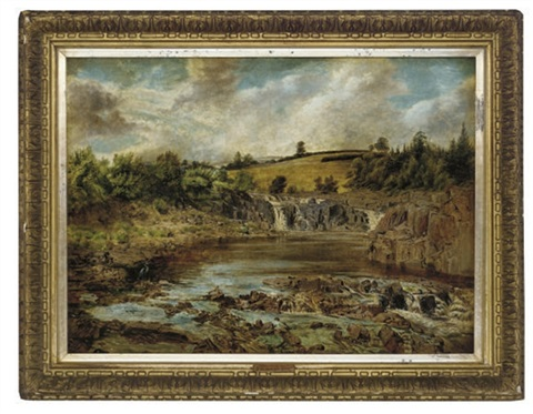 the river waterfall by john wright oakes