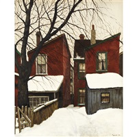 behind spadina ave by albert jacques franck
