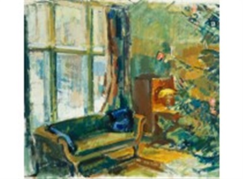 home in kilo at christmas 1921 by magnus enckell
