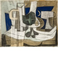 abstract still life by james brooks
