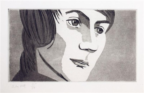 from june eckmans class 4 works by alex katz