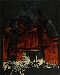 cattedrale by mario schifano