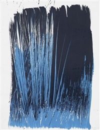 t 1963-l4 by hans hartung