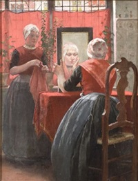 before the mirror by walter macewen