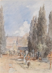 friedhof in abbazia by marie egner