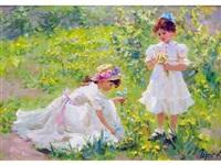 jour de printemps by vladimir gusev