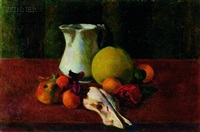 still life with fruit by gordon franklin peers