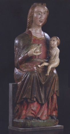 madonna and child by german school 14