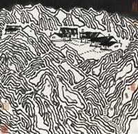 山水 by jiang baolin