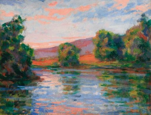 bord de leau by armand guillaumin