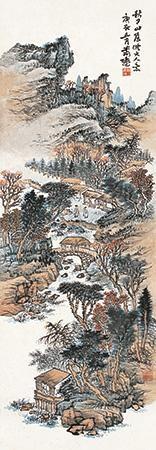 秋日山居 by xiao xun
