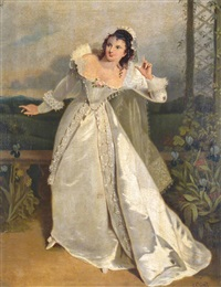 miss phillis glover as beatrice in much ado about nothing by george clint