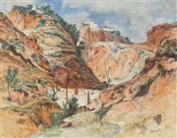 near sidi bu said, tunisia by james mcintosh patrick