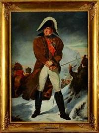 portrait du maréchal ney, duc d'elchingen, prince de la moskowa durant la retraite de russie portant l'ordre de la légion d'honneur et la couronne de fer by jérome-martin langlois