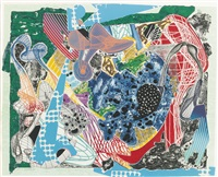 swoonarie (from imaginary places) by frank stella