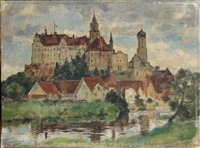 vue de village allemand by alfred sohn-rethel