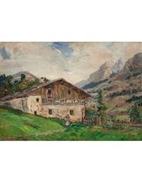 vecchia casa selva val gardena by carlo aimetti