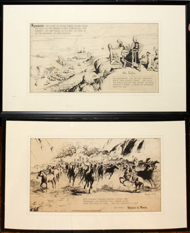 prince valiant comic strip 2 works by harold hal foster