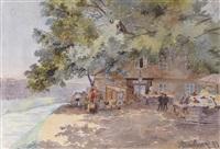 das alte kaiserbad am donaukanal by sophie marie von arnsburg-rain