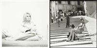 brigitte bardot (2 works) by andré sas and patrick morin