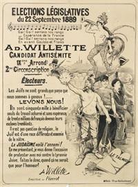élections législatives by adolphe léon willette