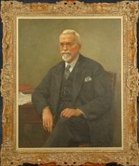 portrait d'homme barbu by louis buisseret