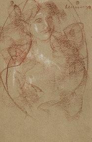 figura femminile by antonio mancini