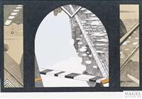 la seine des fenetres (portfolio of 9) (+ portfolio of 8; 17 works) by sirbegovic kemal