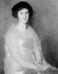 portrait of dorothy churchill wyman by rutledge bate