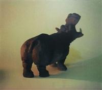 sans titre (hippopotame) by xavier veilhan