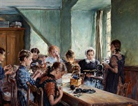 sewing hour by otto piltz
