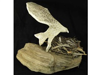 nesting eagle guardian egg by gale jacobson