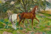 pferde by conrad felixmüller