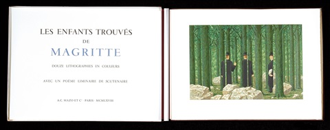 les enfants trouvés album w12 works by rené magritte