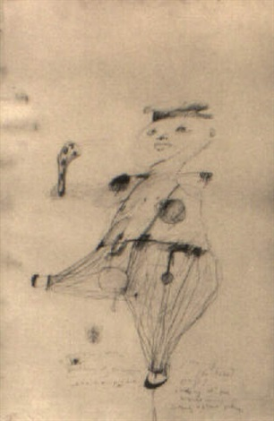 figural drawing by patti smith