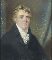 portrait traditionally identified as mr walton esq by john raphael smith