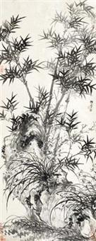 兰竹 by liang chen