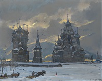 the russian north by ilya glazunov