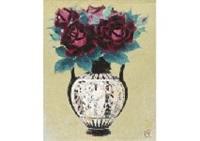 flower in pot by tadashi moriya