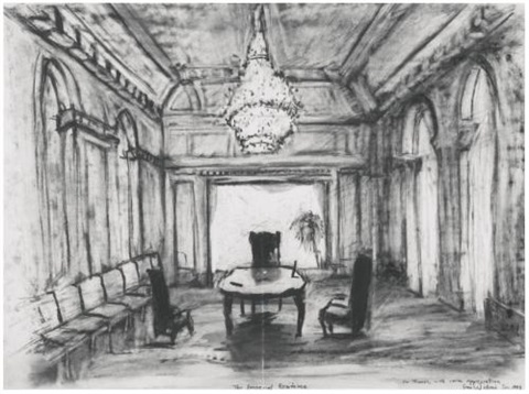 the imperial residence by william kentridge