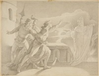 hamlet erscheint der geist seines toten vaters by adam vogler