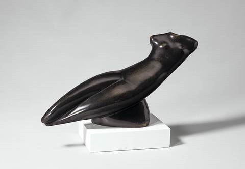 small diagonal torso in space by alexander archipenko