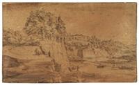 paesaggio ponentino by roelant roghman