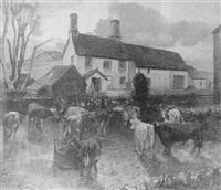 milking-time by james bateman