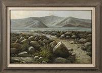 western landscape by ralph scott