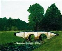 witte brug by hendrik nicolaas werkman